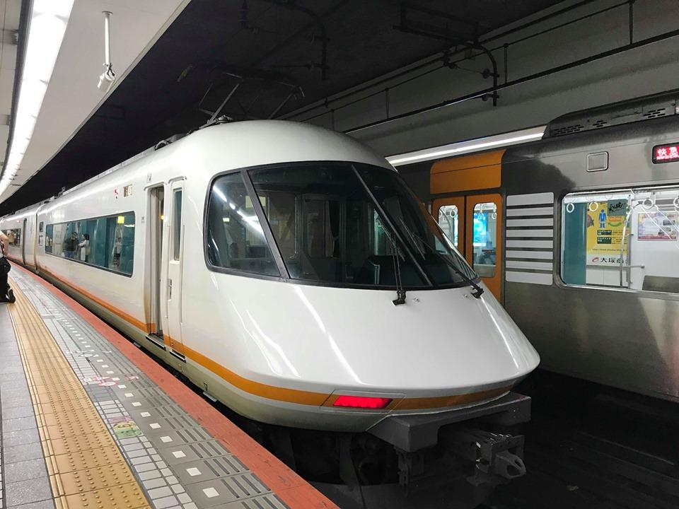 Kintetsu Limited Express train