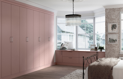 Premier Duleek bedroom in Dusky Pink finish