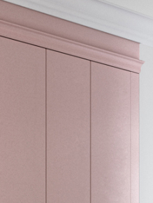Close up of Dusky Pink bedroom