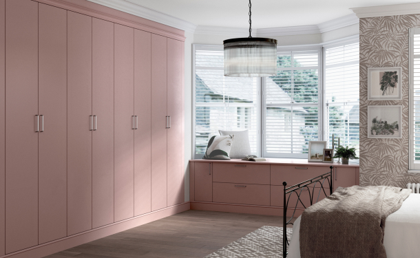 Dusky Pink bedroom picture