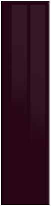 High Gloss Aubergine finish of bedroom doors