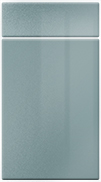 High Gloss Gloss Blue Metallic bedroom door finish