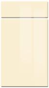 High GlossHigh Gloss Cream bedroom door finish