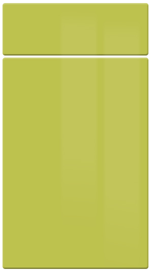 Gloss Lime Green*Discontinued Dec 2018* kitchen door finish