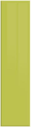Gloss Lime Green finish of bedroom doors