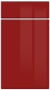 High Gloss High Gloss Red bedroom door finish