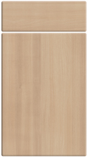 Non Gloss Acacia bedroom door finish