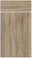 Non GlossSonoma Oak bedroom door finish