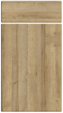 Non Gloss Trojan Oak bedroom door finish