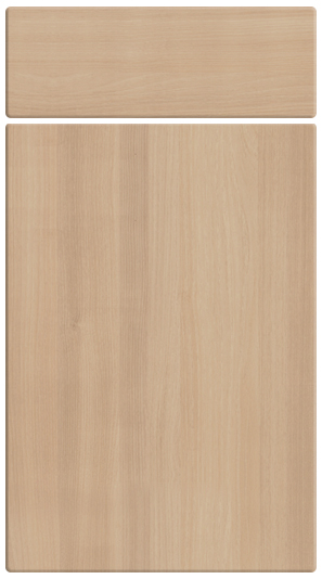 Acacia kitchen door finish
