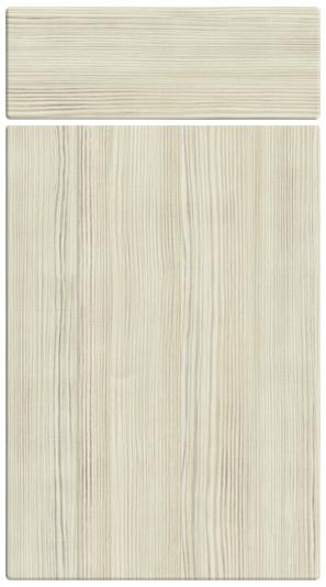 Avola White kitchen door finish
