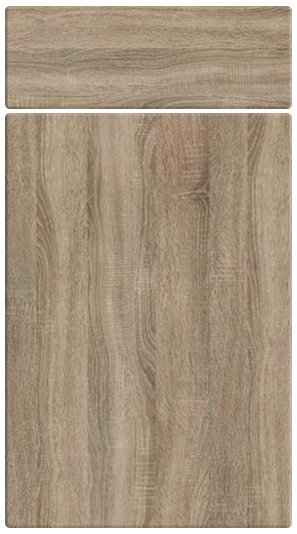 Sonoma Oak kitchen door finish