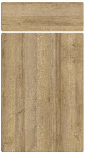 Trojan Oak kitchen door finish
