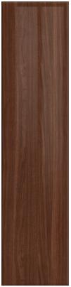 High Gloss Walnut finish of bedroom doors