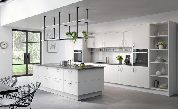 Pure White kitchen picture