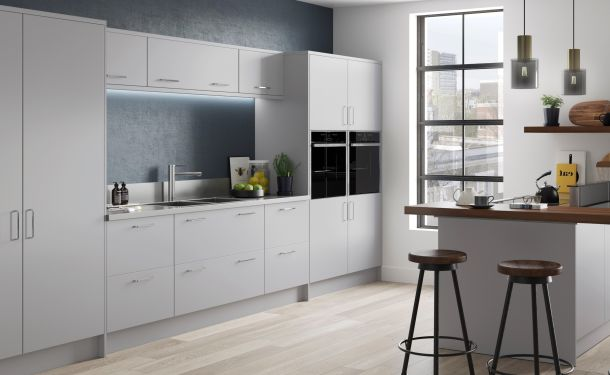 Light Grey kitchen picture