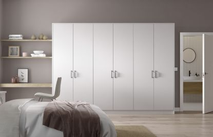 Premier Duleek bedroom in Pure White finish