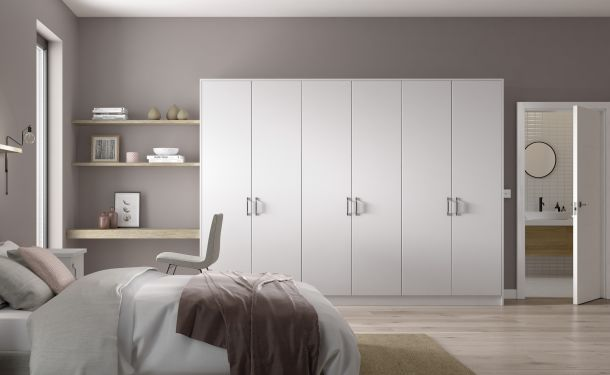 Pure White bedroom picture