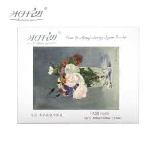 Casse-tête pot de fleur, peinture de Michel-Ange 500 1000 1500 2000 morceaux 2