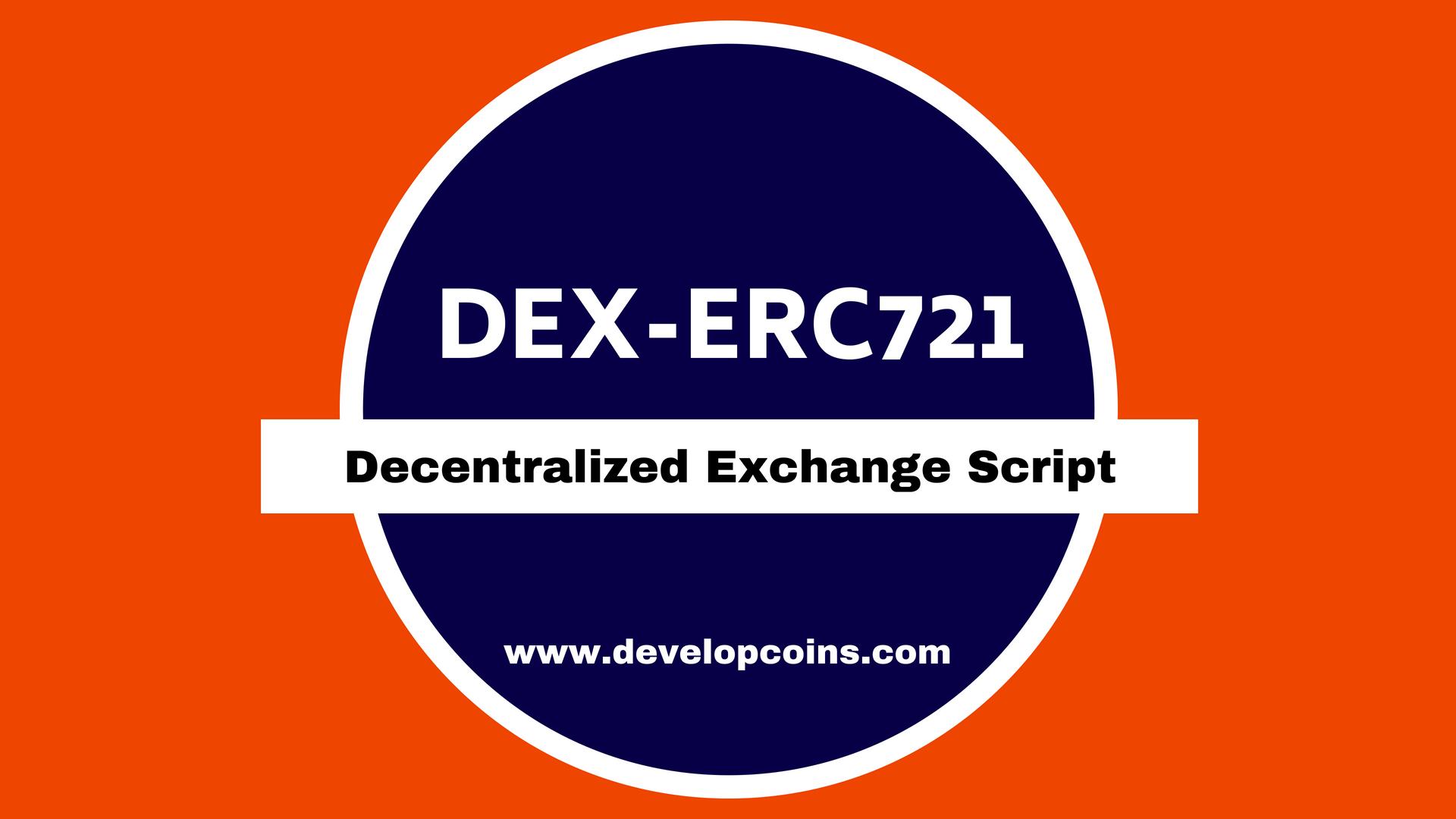 Decentralized Exchange Script