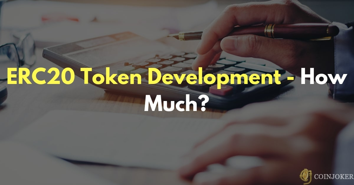How much cost for creating erc20 tokens?