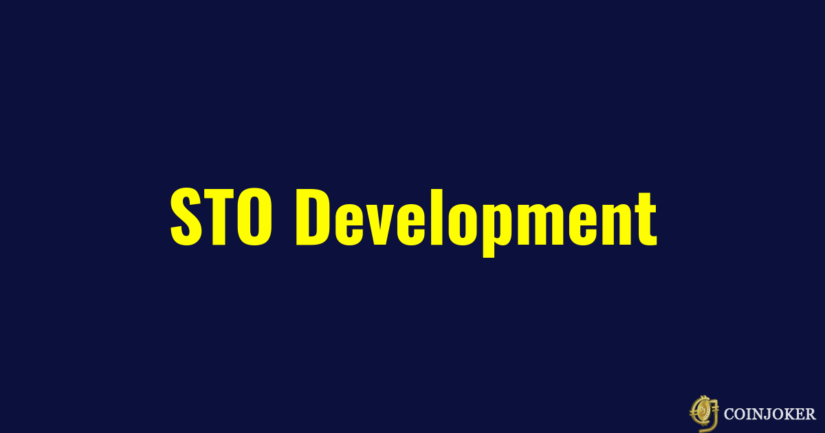 STO Development | Security Token Offering Services