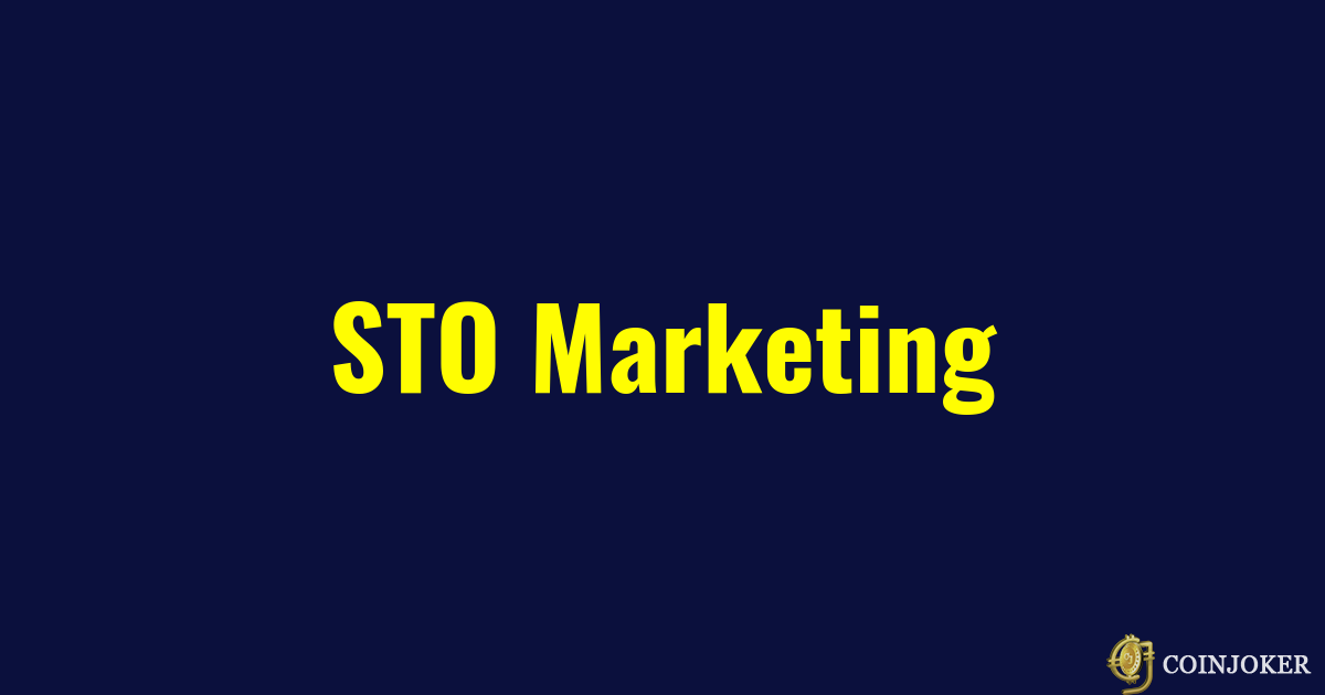 STO Marketing Services - STO Exchange Listing services