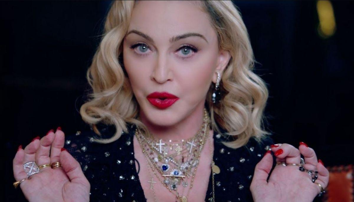 Мадонна удивила
