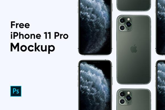 Maquettes iPhone 11 gratuites