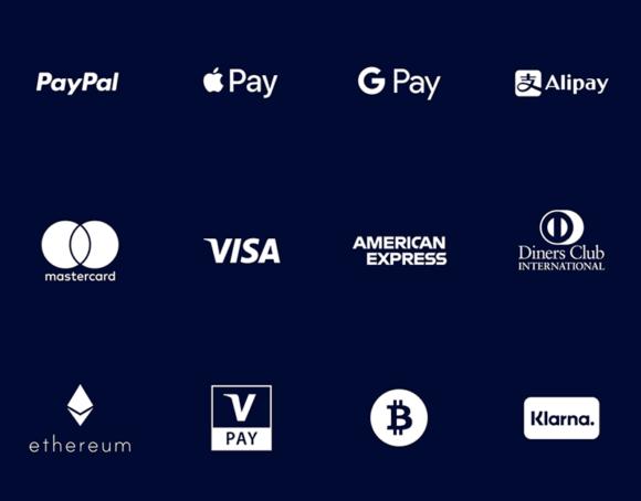 36 Icônes de paiement et de carte de crédit