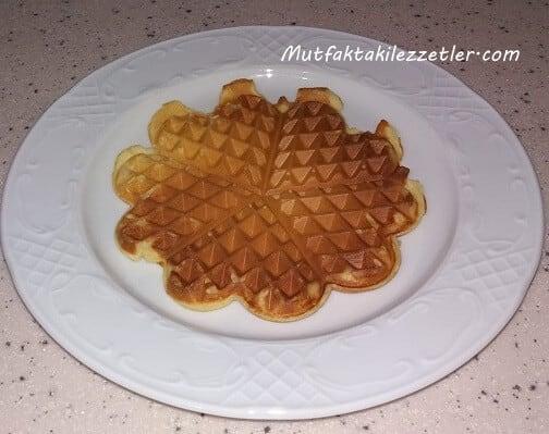 Çıtır waffle hamuru