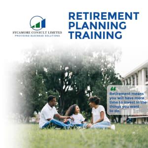 Retirement Planning Training