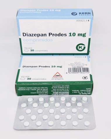 diazepam prodes 10mg kern pharma