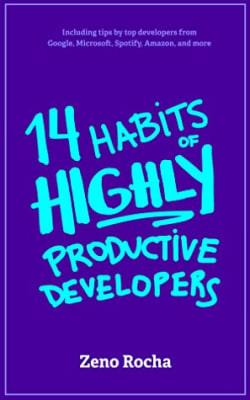 Cover of 14 Habits of Highly Productive Developers