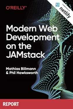 Cover of Modern Web Development on the JAMstack