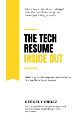Cover of The Tech Resume Inside Out