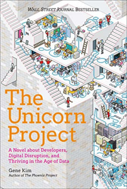 Cover of The Unicorn Project