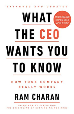 Cover of What The CEO Wants You To Know