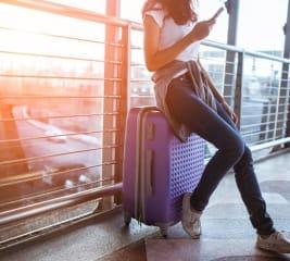 Ist Ihr Handgepäck & Freigepäck bereit für das Flugzeug?