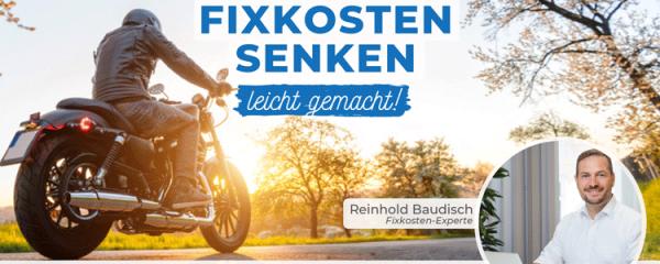 Motorradversicherung: Mit diesen 3 Tipps bis zu 300 € sparen