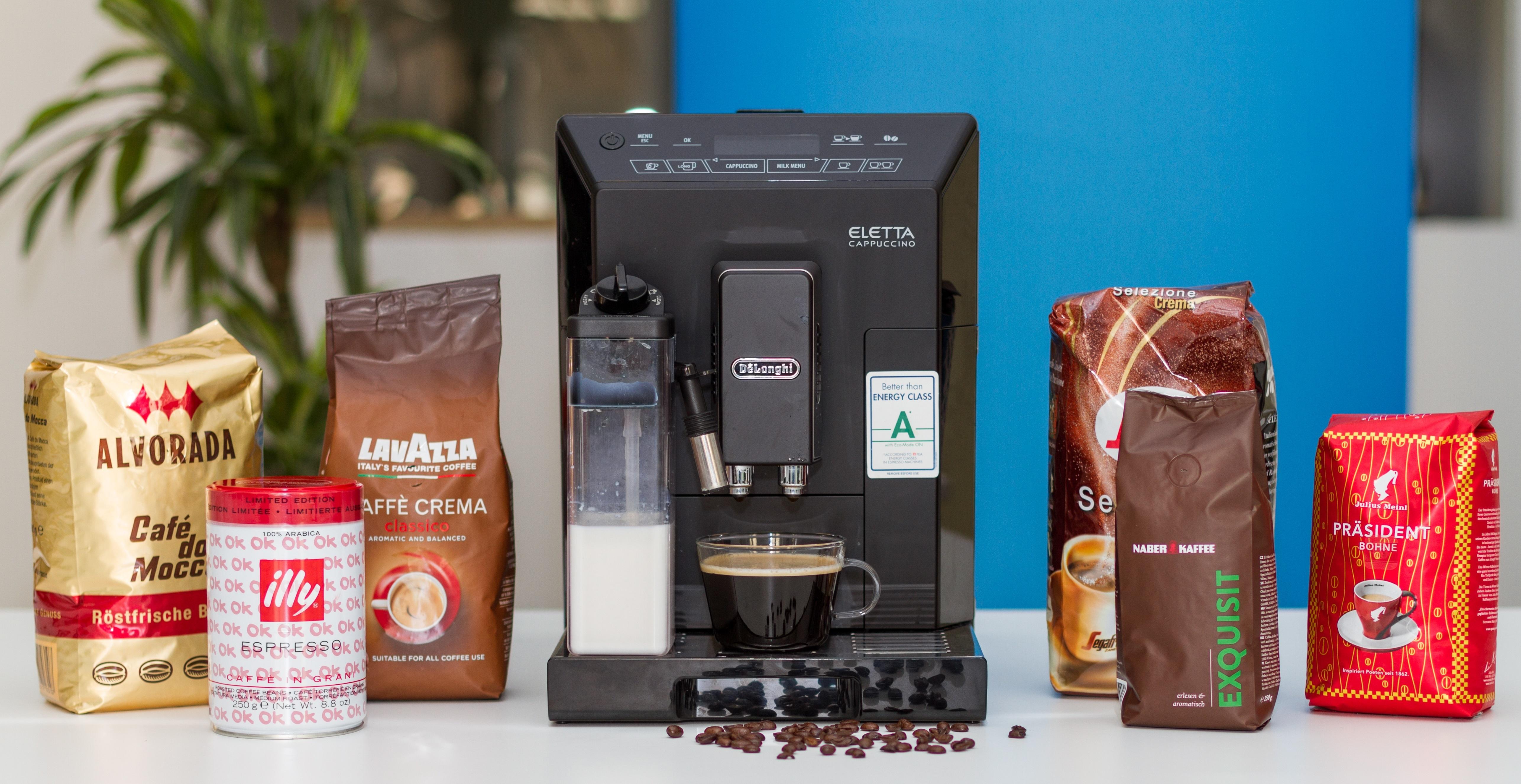 Welcher kaffee ist der beste für vollautomaten