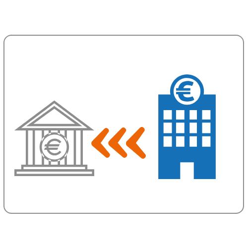 Neue Bank kontaktiert alte Bank