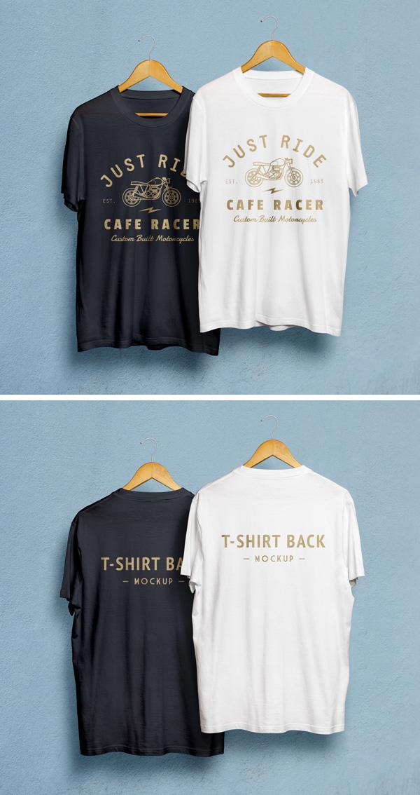 Black & White T-Shirt PSD
