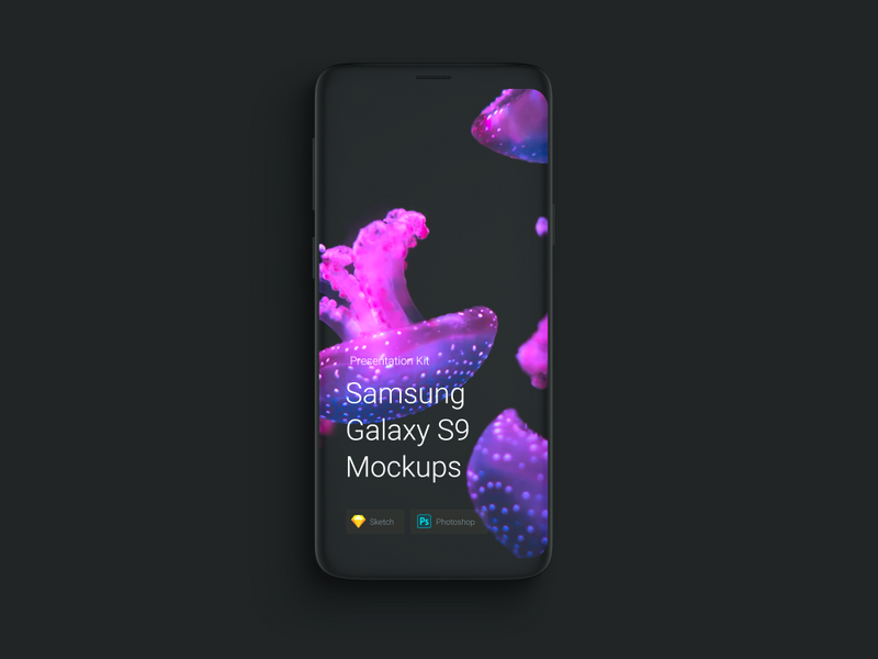 Samsung Galaxy S9 Mockups