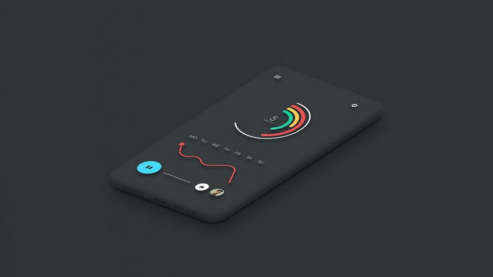 Minimalist Smartphone Free Mockup