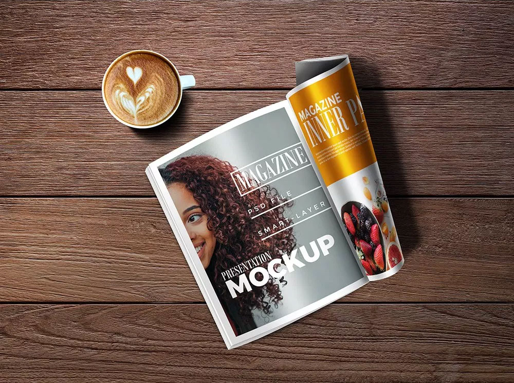 Magazine Inner Page PSD Mockup