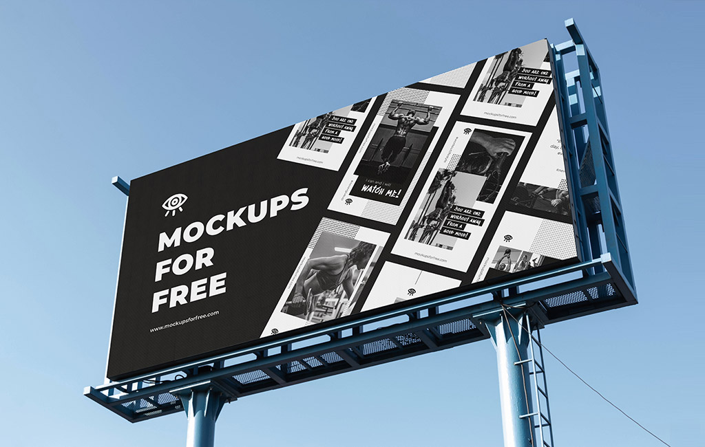 Billboard Mockup psd mockup