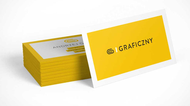 Stack of Business cards PSD Mockup