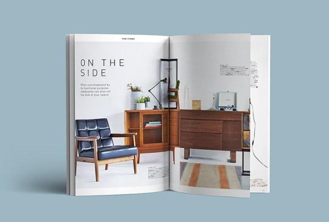 A4 Free Magazine Mockup PSD