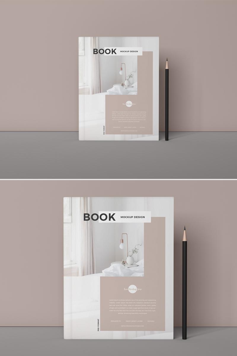 Free Branding PSD Book Mockup